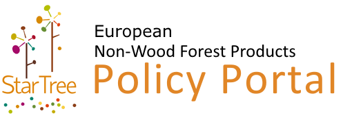 Logo of the StarTree European Non-Wood Forest Products Portal